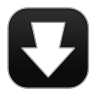 96x96px size png icon of Arrow Download