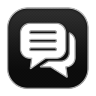 96x96px size png icon of Chat 4
