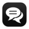 96x96px size png icon of Chat 6