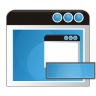 96x96px size png icon of application remove