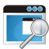 96x96px size png icon of application search