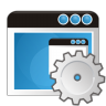 96x96px size png icon of application settings
