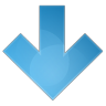 96x96px size png icon of arrow down
