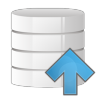 96x96px size png icon of database arrow up