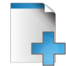 96x96px size png icon of document add
