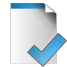 96x96px size png icon of document check