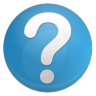 96x96px size png icon of question faq