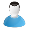 96x96px size png icon of user male
