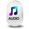 96x96px size png icon of File Audio
