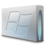 96x96px size png icon of Drive windows