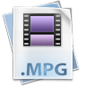 96x96px size png icon of Filetype mpg