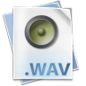 96x96px size png icon of Filetype wav