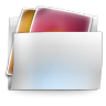 96x96px size png icon of Folder my pictures