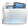 96x96px size png icon of Folder my video