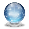 96x96px size png icon of Network globe online