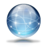 96x96px size png icon of Network globe
