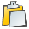 96x96px size png icon of Clipboard