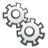 96x96px size png icon of Gears
