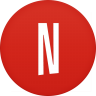 96x96px size png icon of netflix