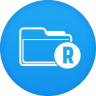 96x96px size png icon of root explorer