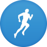 96x96px size png icon of runkeeper