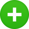 96x96px size png icon of text plus
