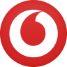 96x96px size png icon of vodafone