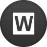 96x96px size png icon of wired