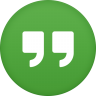 96x96px size png icon of google hangouts