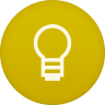 96x96px size png icon of google keep