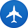 96x96px size png icon of plane flight