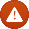96x96px size png icon of warning
