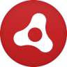 96x96px size png icon of adobe air