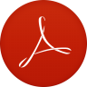 96x96px size png icon of adobe reader