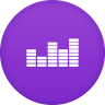 96x96px size png icon of deezer 2
