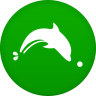 96x96px size png icon of dolphin