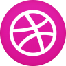 96x96px size png icon of dribble