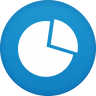 96x96px size png icon of graph