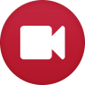 96x96px size png icon of video camera
