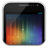 96x96px size png icon of Phone galaxynexus on white