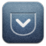 96x96px size png icon of Pocket alt Demin