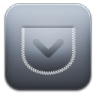 96x96px size png icon of Pocket alt