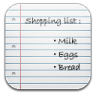 96x96px size png icon of Shopping list