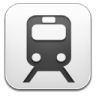96x96px size png icon of Train schedule