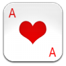 96x96px size png icon of ace of hearts