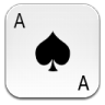 96x96px size png icon of ace of spades