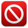 96x96px size png icon of adblock