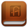 96x96px size png icon of aldiko book Reader