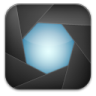 96x96px size png icon of aperture black