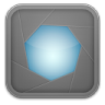 96x96px size png icon of aperture grey 2